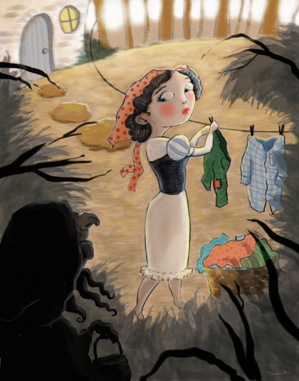 Snow White by Shanda McCloskey