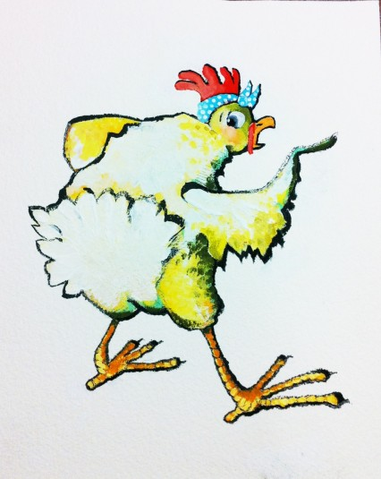chicken character 2