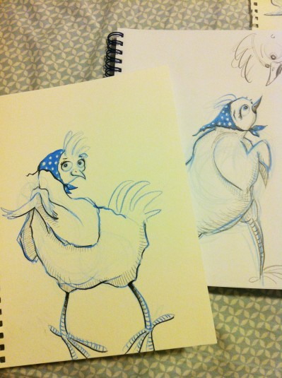 Sketches by Shanda McCloskey