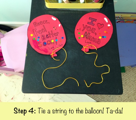 Balloon Step 4