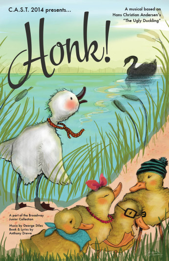 """Honk!"" poster by Shanda McCloskey"