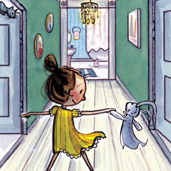 Art by Shanda McCloskey from Bedtime Ballet